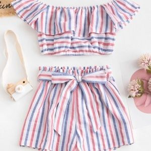 Red White and Blue 2 Piece Set